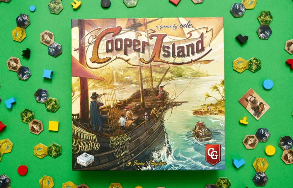 Solo against Cooper card deck Cooper Island