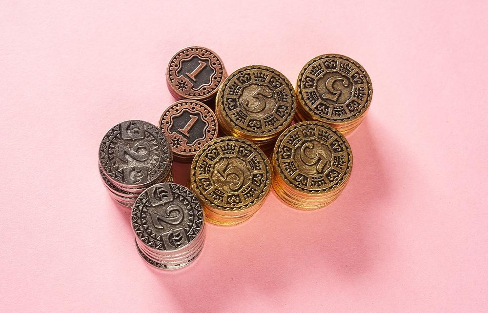 Maracaibo Metal Coins