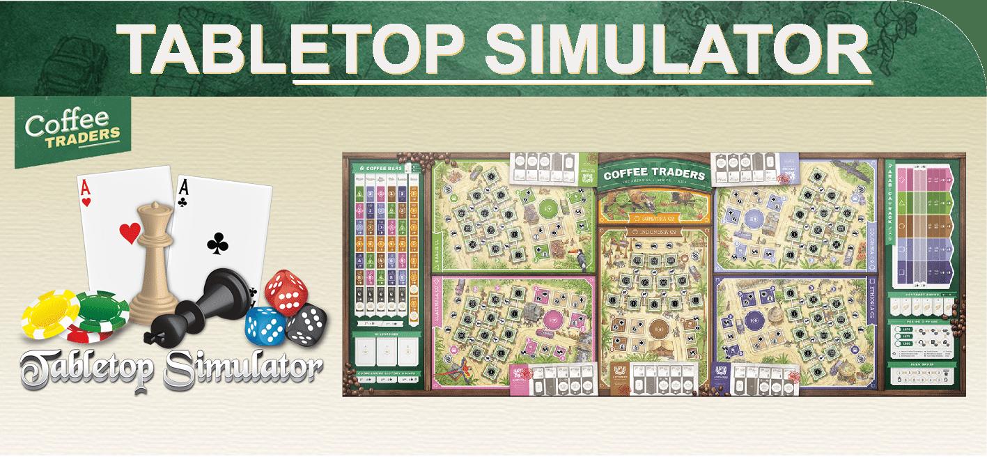 Coffee Traders - Tabletop Simulator