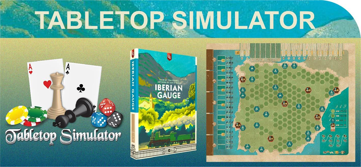 Iberian Gauge - Tabletop Simulator